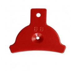 Plastic whistle BB (Boulder Bluff)